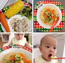 Món ăn hàng tuần cho bé