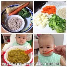 Thay đổi món ăn hàng ngày cho bé