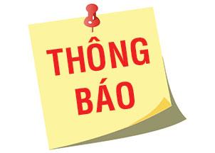 THÔNG BÁO TUYỂN SINH NĂM HỌC 2016 - 2017